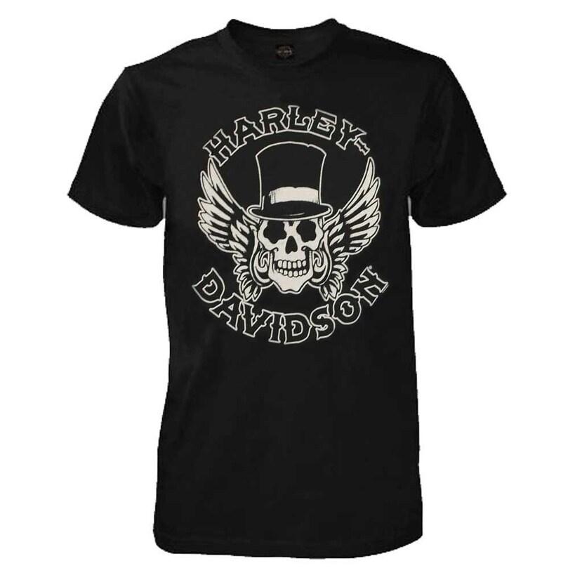 Harley-Davidson Men/'s Way of Life Skull Short Sleeve T-Shirt Black 30298308