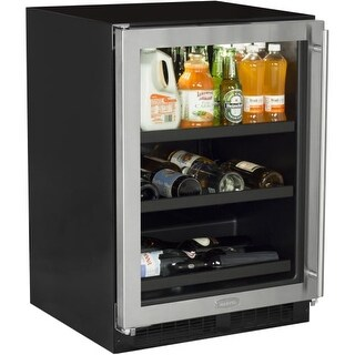 """Marvel ML24BC0L 24"""" Wide 190-Can Built-In Beverage Center with Incandescent Ligh"""