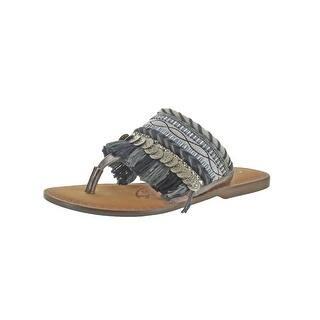56863bd69bb Naughty Monkey Shoes Naughty Monkey Pom Pom Sandals 7