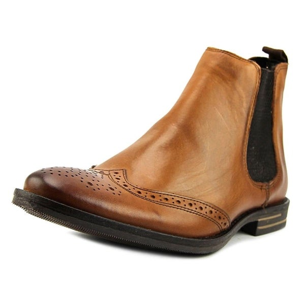 f70a9e31bc Shop Base London Boxley Men Pointed Toe Leather Tan Ankle Boot ...