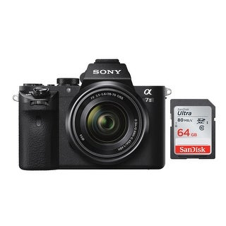 Link to Sony Alpha a7II Mirrorless Camera with 28-70mm Lens & 64GB Memory Card Similar Items in Digital Cameras