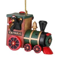 Demdaco BF Bearfoots Express Train ornament