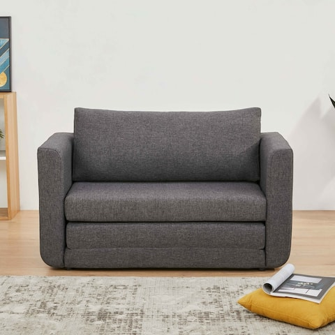 Artdeco Home Afton Sleeper Loveseat Sofa