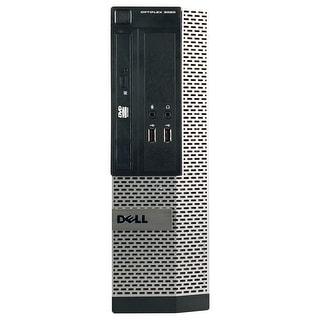 Dell OptiPlex 3010 Desktop Computer SFF Intel Core I3 3220 3.3G 4GB DDR3 1TB Windows 7 Pro 1 Year Warranty (Refurbished) - Black