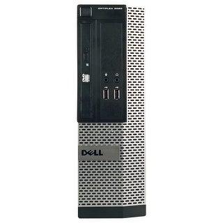 Dell OptiPlex 3010 Desktop Computer SFF Intel Core I3 3220 3.3G 4GB DDR3 2TB Windows 7 Pro 1 Year Warranty (Refurbished) - Black