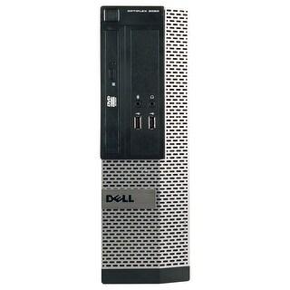 Dell OptiPlex 3010 Desktop Computer SFF Intel Core I5 3450 3.1G 4GB DDR3 1TB Windows 7 Pro 1 Year Warranty (Refurbished) - Black