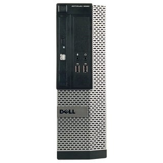 Dell OptiPlex 3020 Desktop Computer SFF Intel Core I3 4130 3.4G 4GB DDR3 250G Windows 10 Pro 1 Year Warranty (Refurbished)