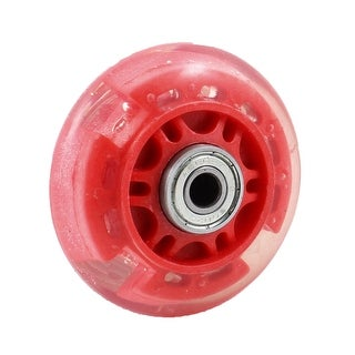 Unique Bargains 8mm Inline Dia 608ZZ Bearing Replacement Roller Skate Wheels