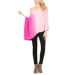 Riah Fashion's 4 In 1 Soft Ombre Button Cardigan