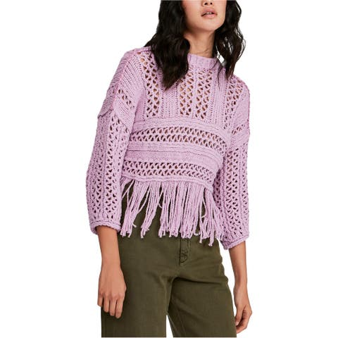 Free People Womens Higher Love Pullover Sweater