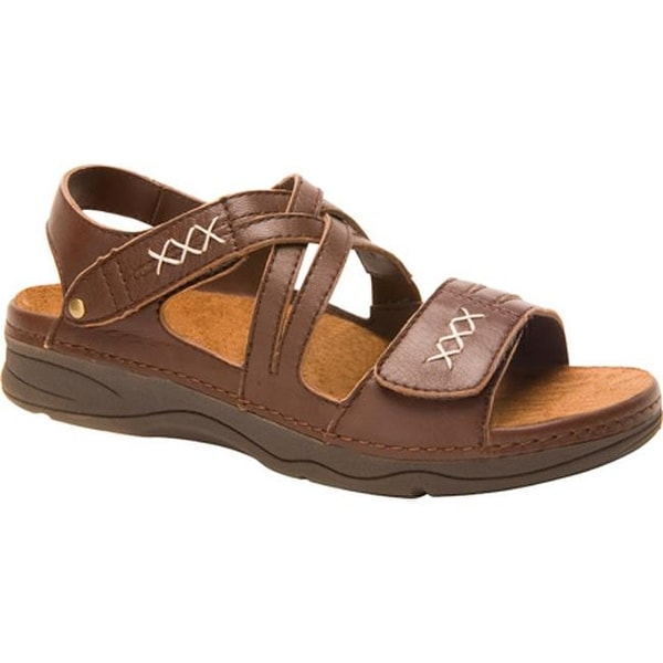 657b83121766a7 Shop Drew Women s Argo Brown Smooth Leather - Free Shipping Today -  Overstock.com - 9256601