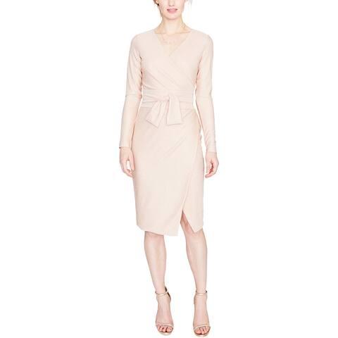 Rachel Rachel Roy Womens Special Occasion Dress Metallic Long Sleeves