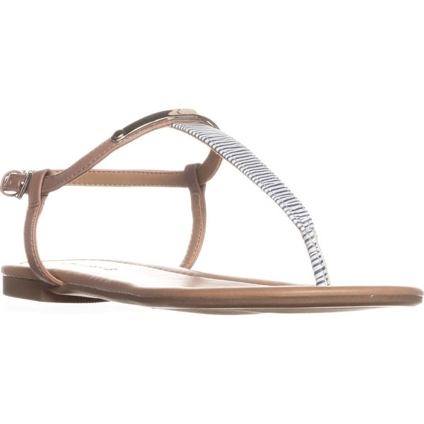 Call It Spring Aareniel Flat Sandals, Navy