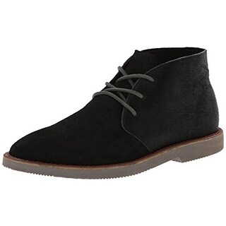 SeaVees Womens 3 Eye Chukka Boots Oiled Suede Cow Hide