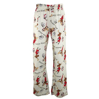 Just One Women's Knit Novelty Print Pajama Pants
