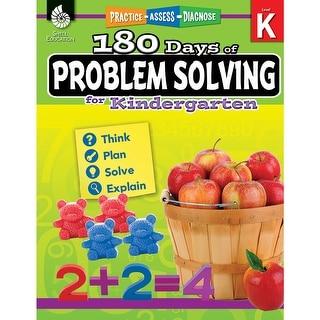 180 Day Problem Solving Gr K Workbk