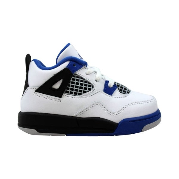03f498f92d73 Shop Nike Air Jordan IV 4 Retro BT White Game Royal-Black Motorsport ...
