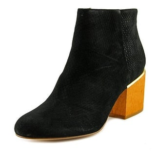 Calvin Klein Jenna Women  Round Toe Leather  Bootie