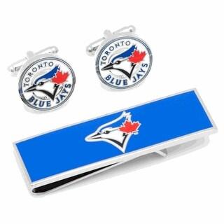 Vintage Toronto Blue Jays Cufflinks and Money Clip Gift Set MLB