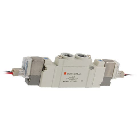 DC 12V SY5000 2 Position Double Action Solenoid Valve