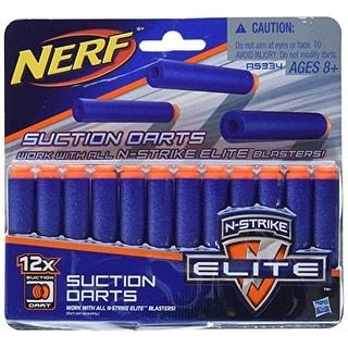 Official Nerf N-Strike Elite Series Suction Darts 12-Pack