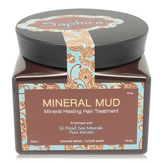Saphira Mineral Mud Hair Mask Deep Conditioner 16.9 oz