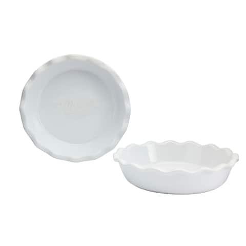 "Mason Craft & More 2PC 10"" Pie Plate Set"