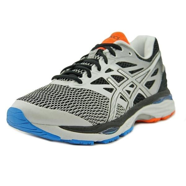 Asics Gel Cumulus 18 Men White/Silver/Black Running Shoes