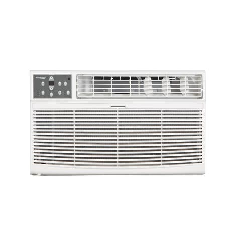 Koldfront WTC10001W 10000 BTU 208/230V Through the Wall Air Conditioner with 10600 BTU Heater with Remote - White