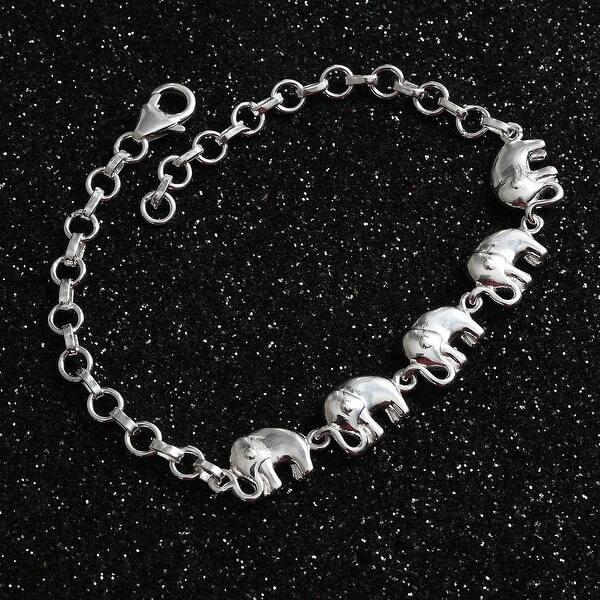 Sterling Silver Bracelet 925 Bracelet 7.25