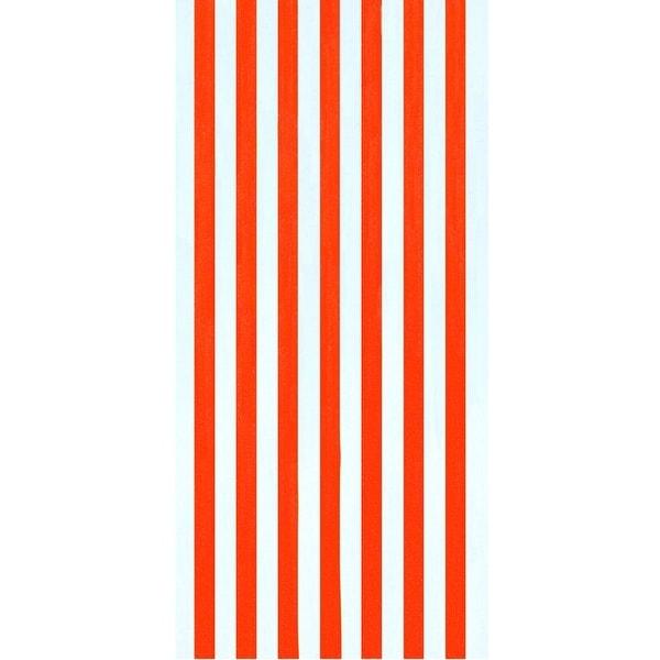 Cabana Stripes Orange 30x60 Brazilian Velour Beach Towel. Opens flyout.