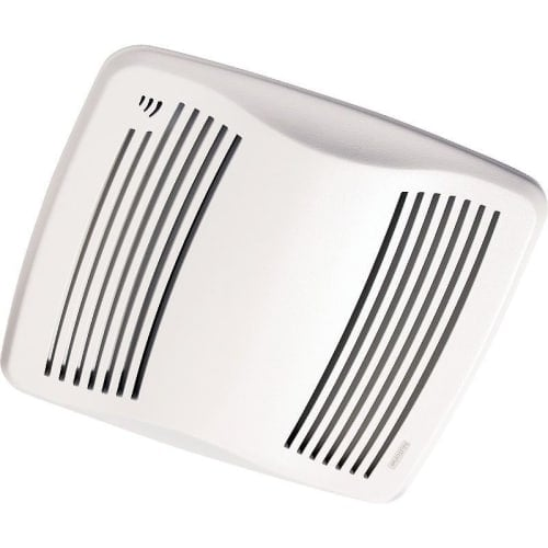NuTone QTXEN110S 110 CFM 0.7 Sone Ceiling Mounted Energy Star Rated HVI Certified Bath Fan with Humidity Sensor from the QT