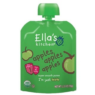 Ella's Kitchen  - Apples Apples Apples Puree ( 12 - 2.5 OZ)
