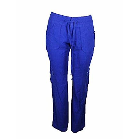 INC Womens Red Cargo Pants Size 4
