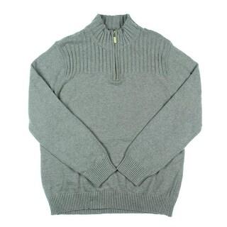 Karen Scott Womens Knit Ribbed Trim Pullover Sweater - XL