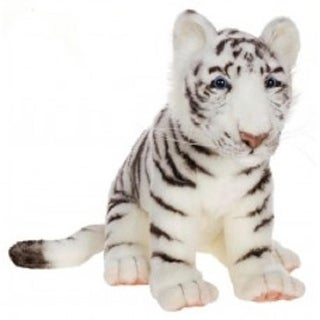 """Link to Set of 2 Life-Like Handcrafted Extra Soft Plush White Tiger Cub Stuffed Animals 14.75""""  Similar Items in Stuffed Toys"""