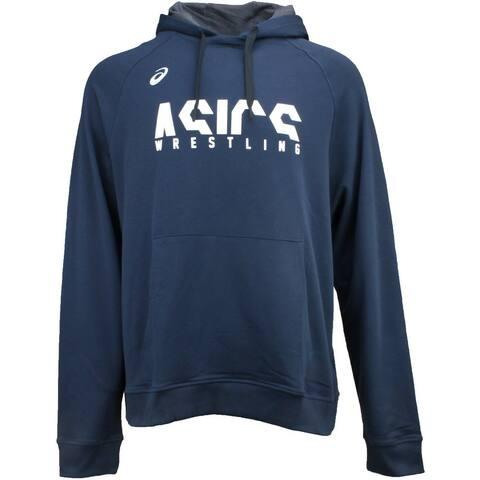 ASICS Split Wr Hoodie Mens Hoodie Pullover - Blue