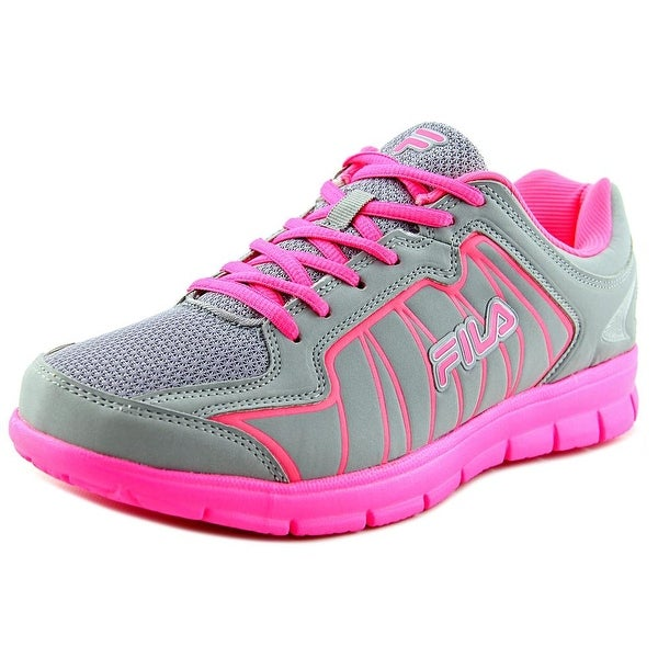 Fila Escalight Women Round Toe Canvas Running Shoe