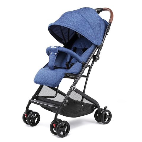 Baby Stroller Carriage Buggy Lightweight Foldable Cynebaby Strollers for Infant - M