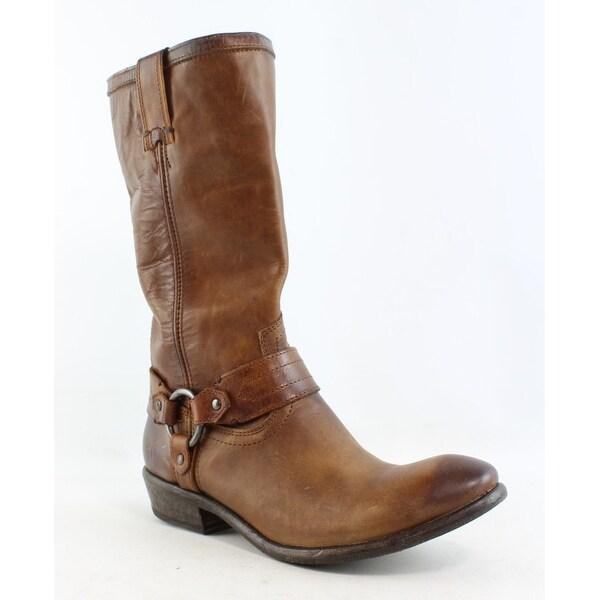 b6eadbdc28b Shop Frye Womens Carson Brown Cowboy, Western Boots Size 7.5 - Free ...