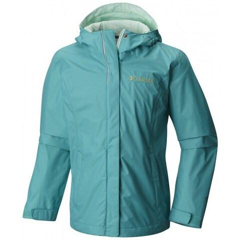 Columbia Girls Arcadia Jacket Waterproof Rain Coat