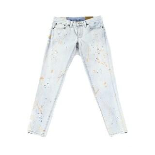 Lauren Ralph Lauren NEW Blue Women's Size 29X27 Slim Skinny Jeans