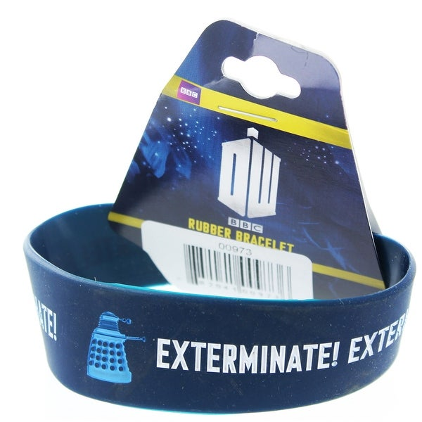 Doctor Who Rubber Wristband Exterminate - multi