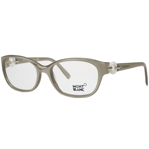 Montblanc MB0442/V 057 Taupe Pearl Oval Opticals - 54-17-135