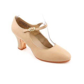 Capezio Manhattan Character Round Toe Leather Dance