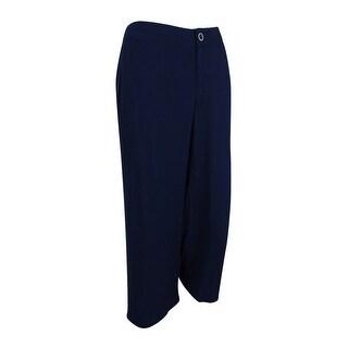 Tommy Hilfiger Women's Wide Leg Crop Pants