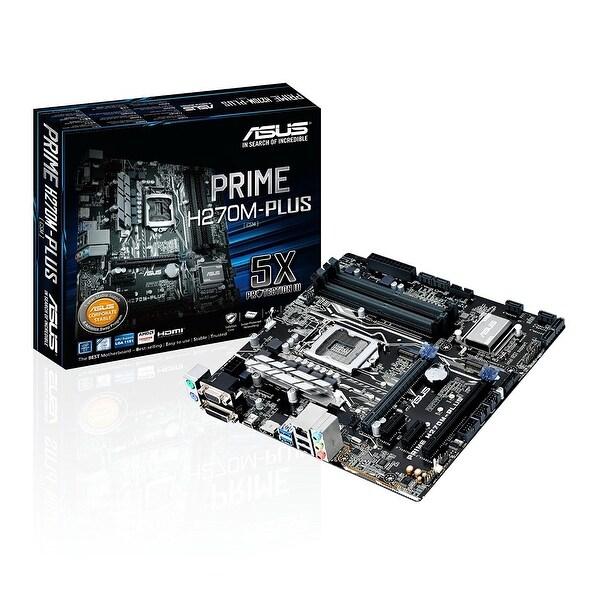Asus - Motherboards - Prime H270m-Plus/Csm