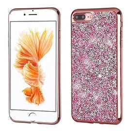 Insten Hard Snap-on Rhinestone Bling Cover Case  For Apple iPhone 7 Plus