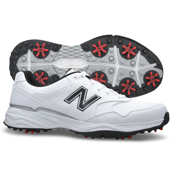 Shop New Balance Men s NBG1701 Spiked Golf Shoes - On Sale - Free Shipping  Today - Overstock - 25602905 0ad71b4b498