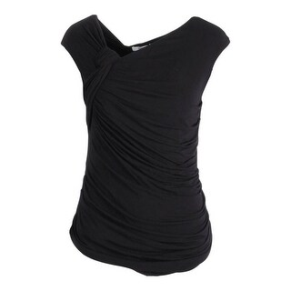 Bailey 44 Womens Jersey Ruched Blouse